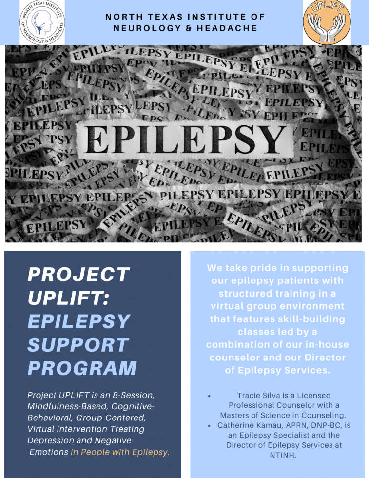 Project UPLIFT: Epilepsy / Seizure Support Program Offered at NTINH
